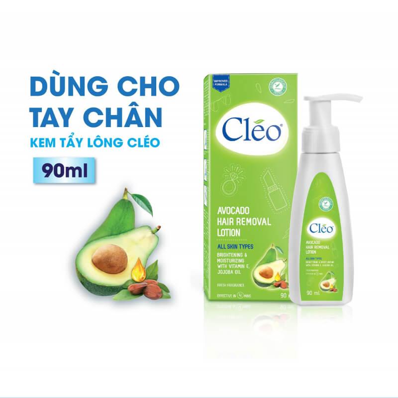 Cleo Avocado Hair Removal Lotion