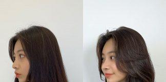Tóc layer nữ
